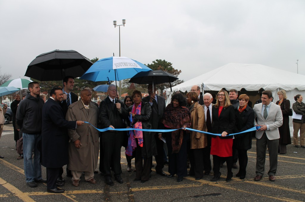 Northland Bus Transit Center Ribbon cutting.